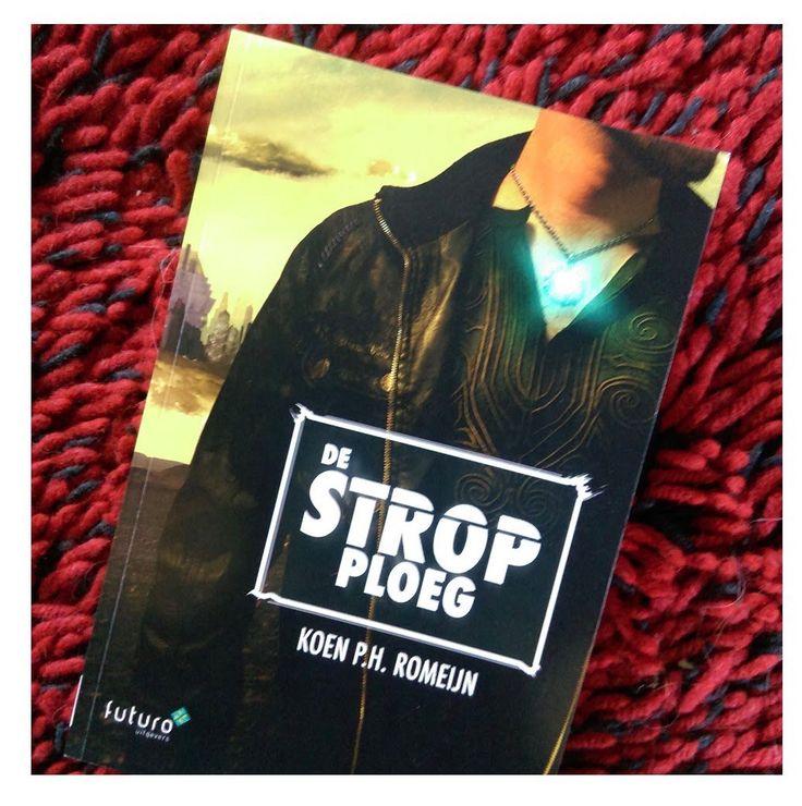 Leuk, recensent Veronique Janssen heeft de scifi 'De Strop Ploeg' van Koen Romeijn ontvangen. Wij zijn erg benieuwd naar haar recensie op haar blog Veronique's boekenhoekje. #destropploeg #koenromeijn #scifi #veertje_94 #futurouitgevers