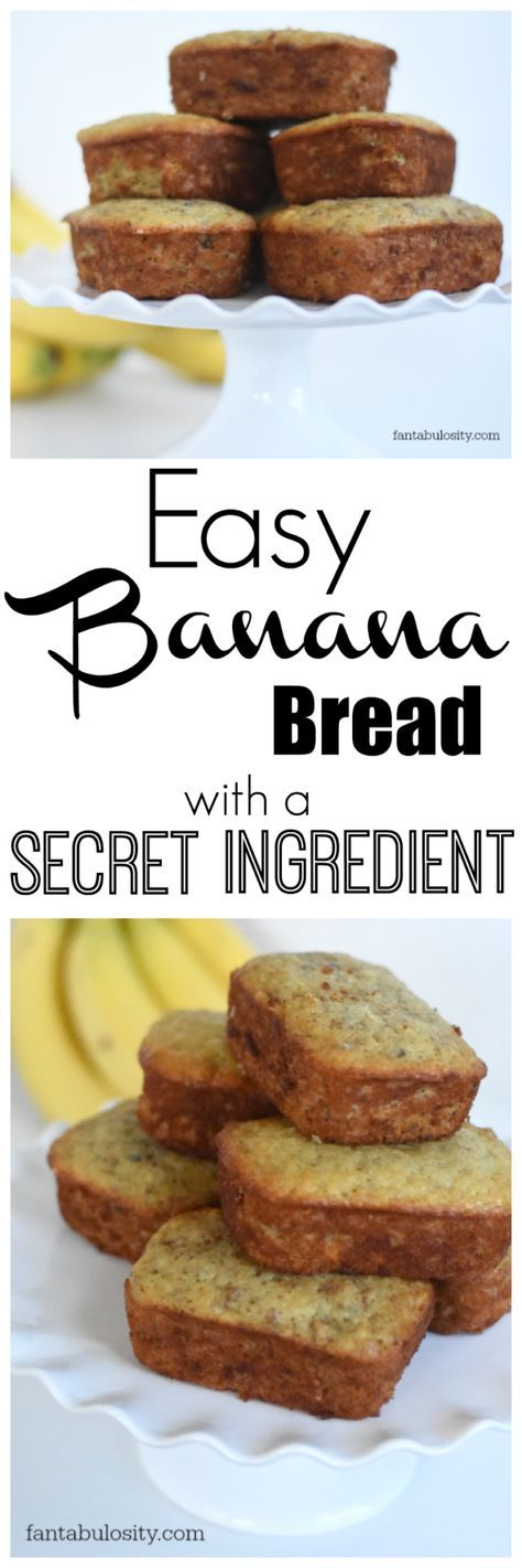 You're gonna love this Banana Bread recipe!