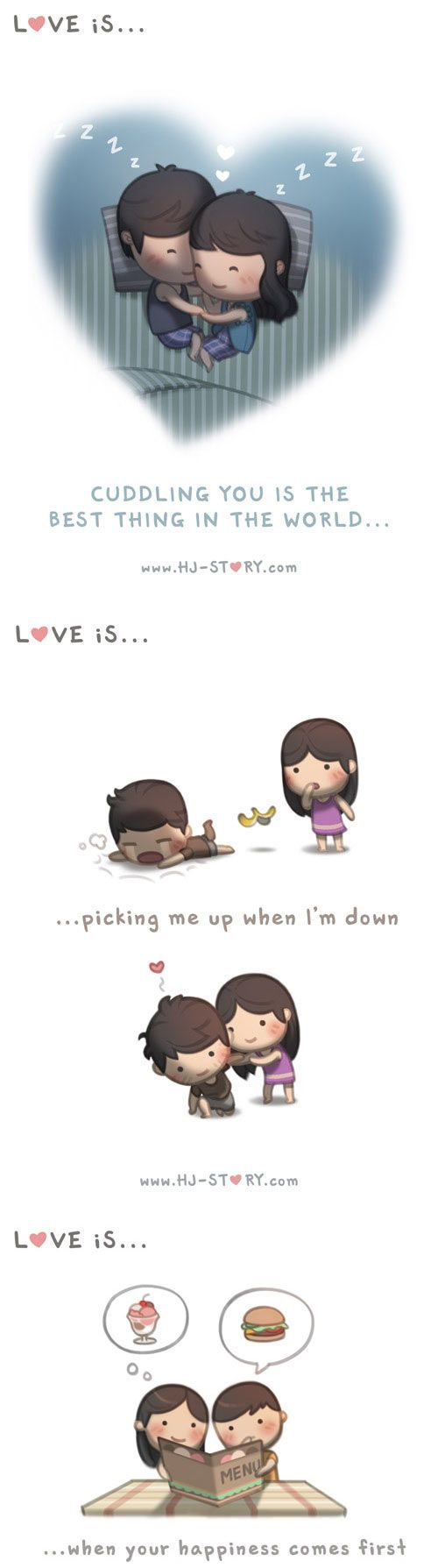 ~ <3 Loved & pinned by http://www.shivohamyoga.nl/ #love #quotes #quote #lovely #cute #loveis #cartoon #warm #hope #live #life #hope #hjstory #adorable