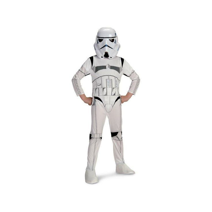 Star Wars Stormtrooper Costume - Kids, Kids Unisex, Size: Medium, White
