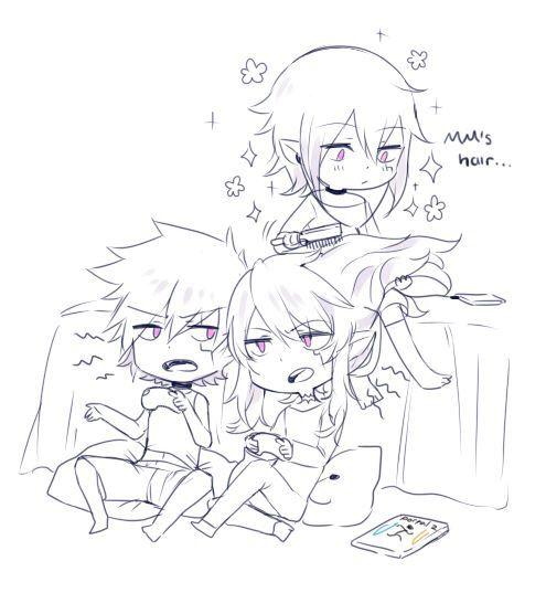 Kuroshi : DE & MM so cute~