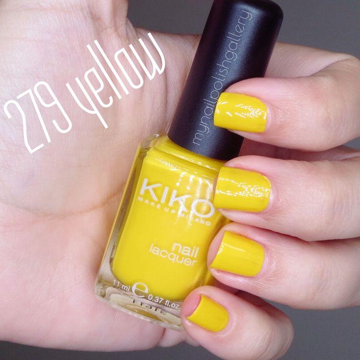 "KIKO ""279 yellow"""