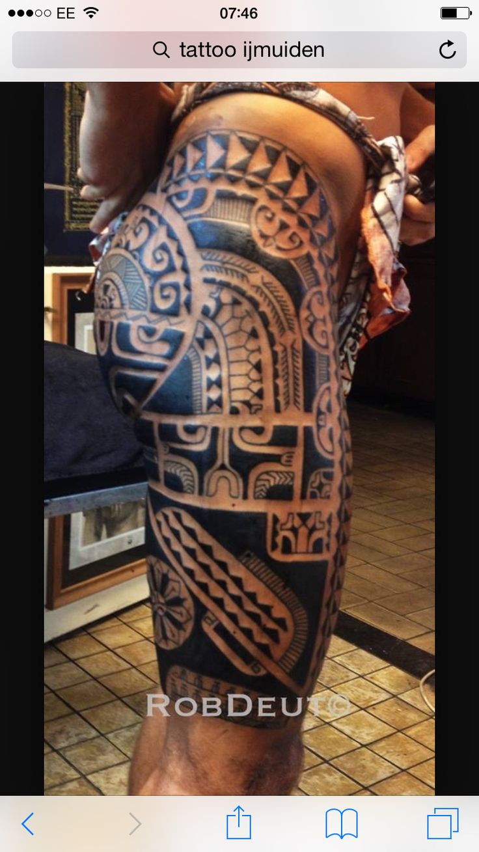 Tahiti / Marquesan tattoo!