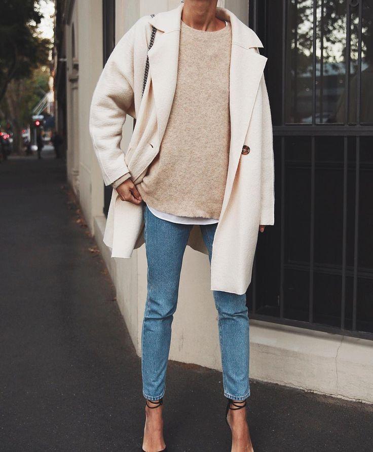 einfache Winterstil # Mode