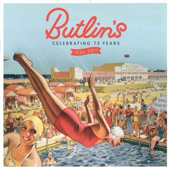 Butlins Holiday Camps, a British institution since 1936. Founded by Billy Butlin to provide affordable holidays for ordinary British families