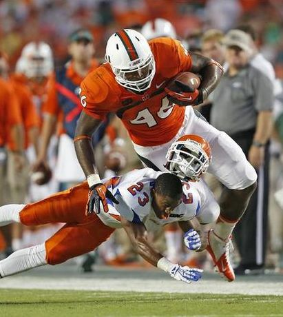 """Miami tight end Clive Walford said what everyone is questioning regarding unionizing college football. """"Getting paid would be everyone's desire."""""""