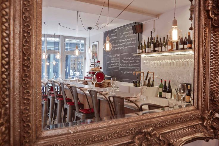 Antidote - 12a Newburgh St, W1. Winebar just off Carnaby St for small cheese and charcuterie plates and fabulous sourdough bread