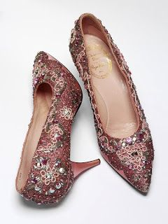 Dior Beaded shoes c. 1950s