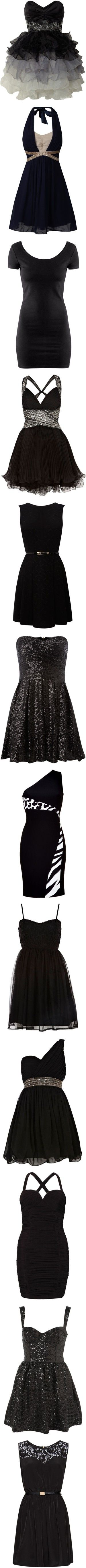 """""""little black dress"""" by andrealuvs1d ❤ liked on Polyvore"""