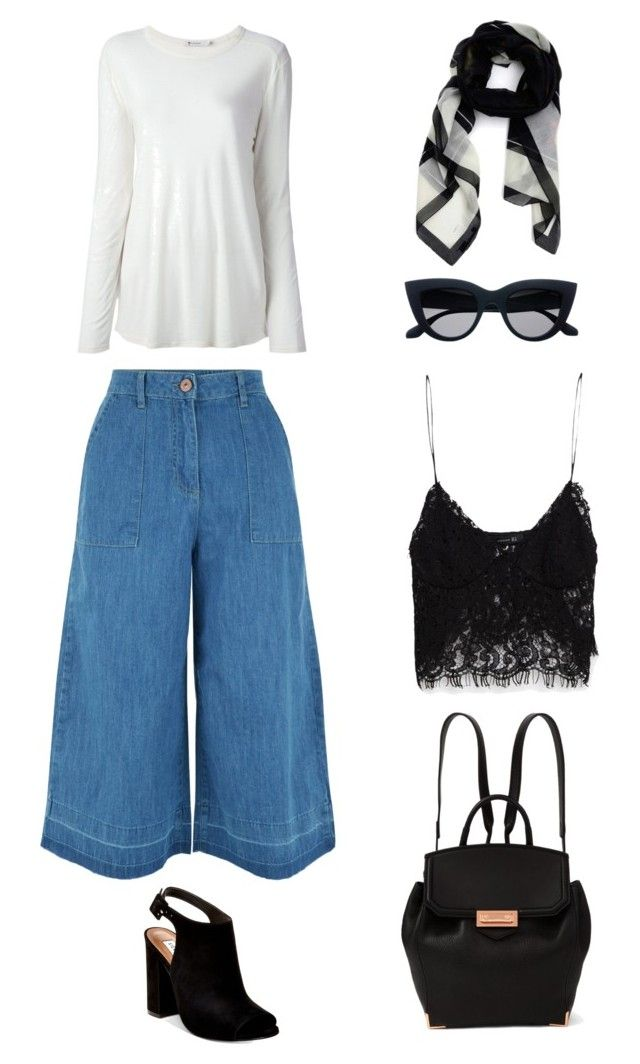 """""""Untitled #79"""" by priliscaa on Polyvore featuring New Look, Zara, T By Alexander Wang, Steve Madden, Givenchy and Alexander Wang"""