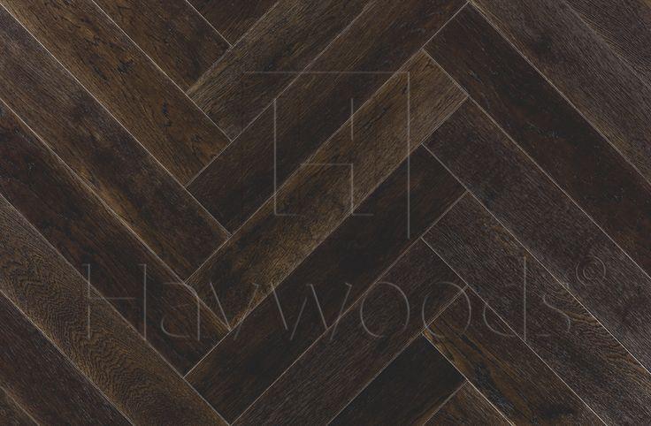 HW696 Europlank Oak Burnish Select Brushed Matt Lacquered Micro Bevelled Herringbone Engineered Wood Flooring