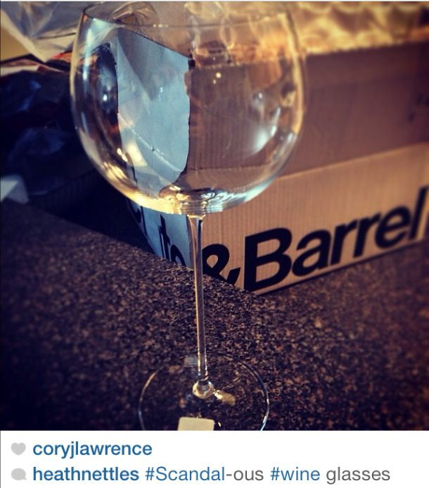 Nice Wine Glasses For Sale Part - 9: Olivia Pope Has Single-handedly Boosted The Sale Of These Crate Barrel  Camille Red Wine Glasses