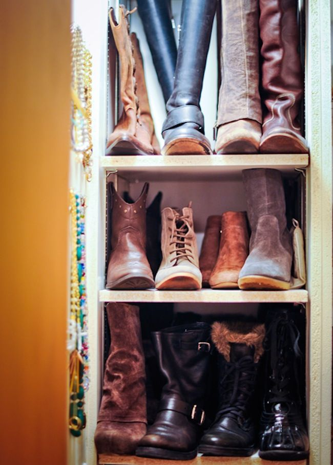 Organize Your Boots