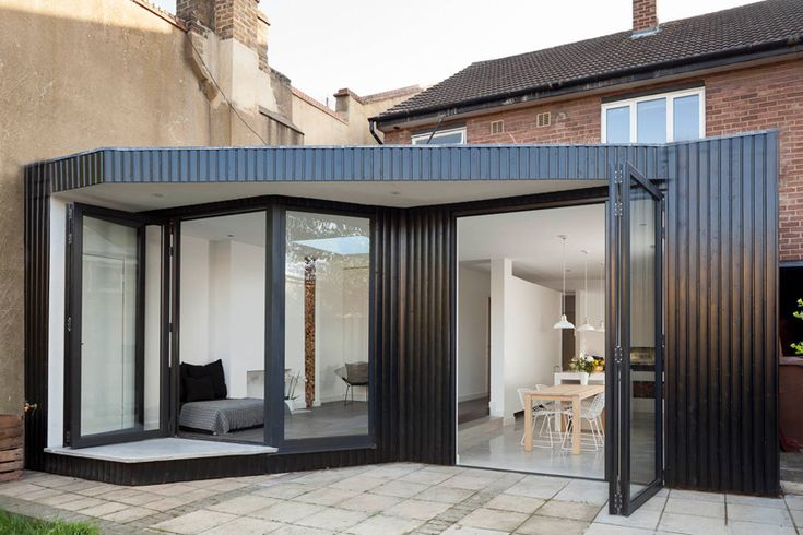 A Young Couple Gets An Extension And Renovation For Their London