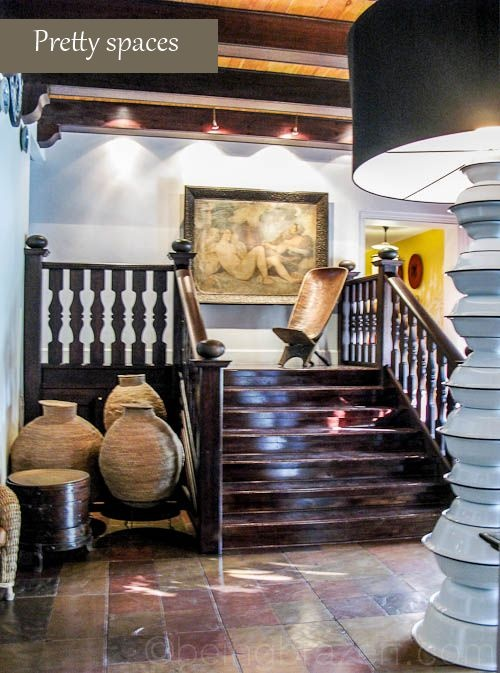 Great decor - Hout Bay Manor, Cape Town