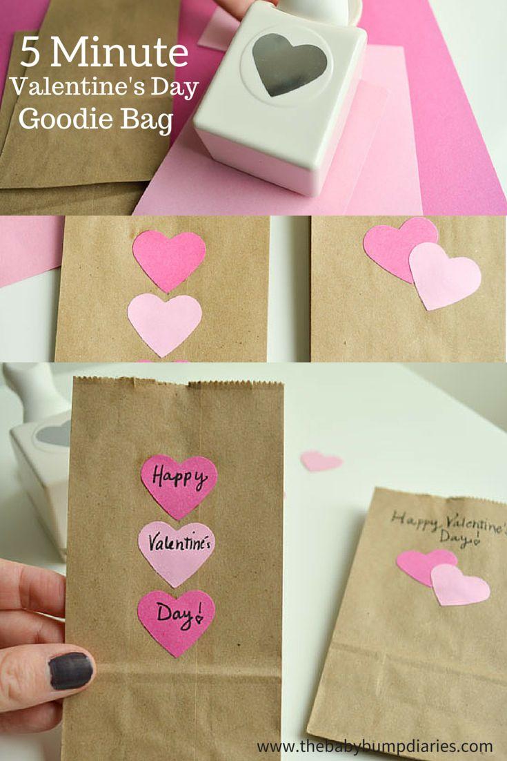 5 Minute Valentine S Day Goodie Bag Valentine S Day Recipes