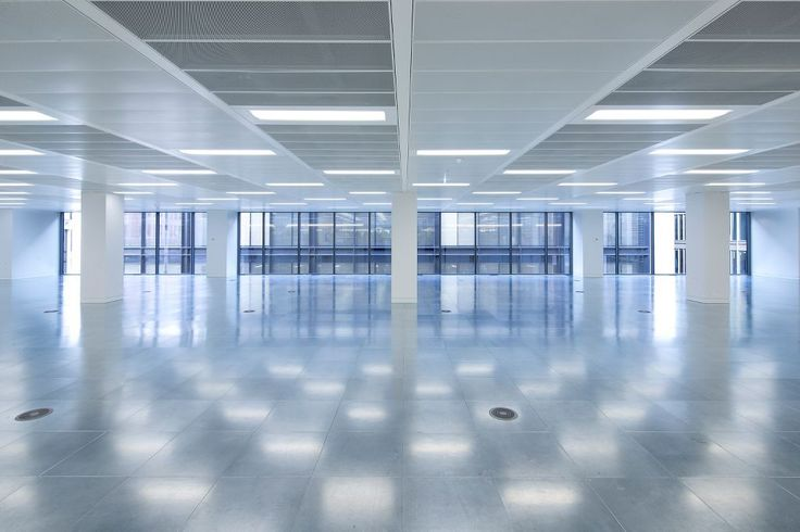 125 Wood Street, London, Armstrong Sufity Podwieszane, suspended ceiling, acoustic, sufit akustyczny, open space, office, call center