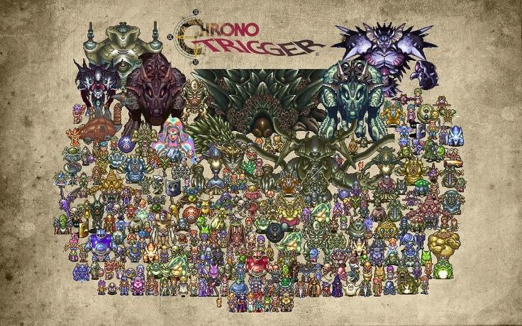Chrono Trigger, tenho que criar vergonha na cara pra te jogar de novo...