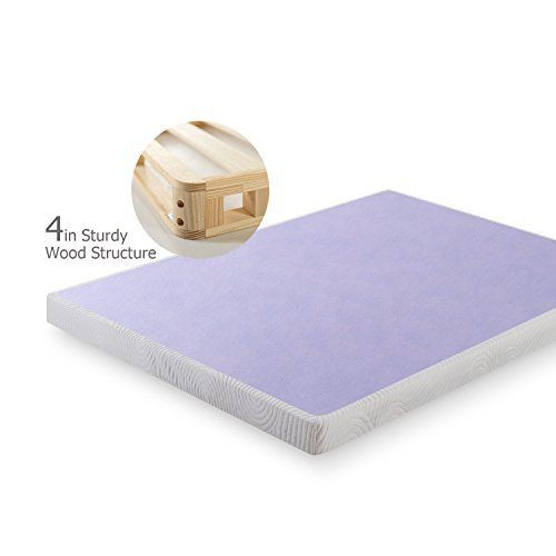 The 4 inch low profile wood box spring by Zinus is an innovative mattress foundation designed for strong mattress support and ease of use. Traditional box Springs are hard to maneuver through your home, especially upstairs and through doorways, but the wood box spring is shipped in manageable... more details available at https://furniture.bestselleroutlets.com/bedroom-furniture/mattresses-box-springs/box-springs/product-review-for-zinus-4-inch-low-profile-wood-box-spring-matt