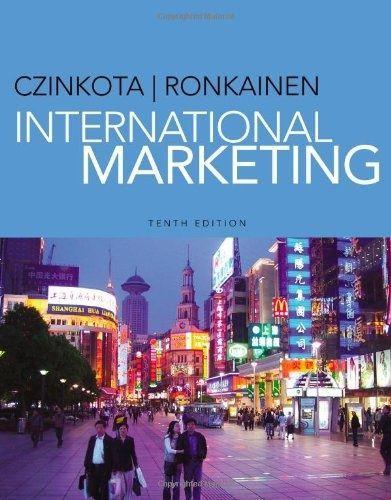 I'm selling ebook -- International Marketing by Michael R. Czinkota and Ilkka A. Ronkainen