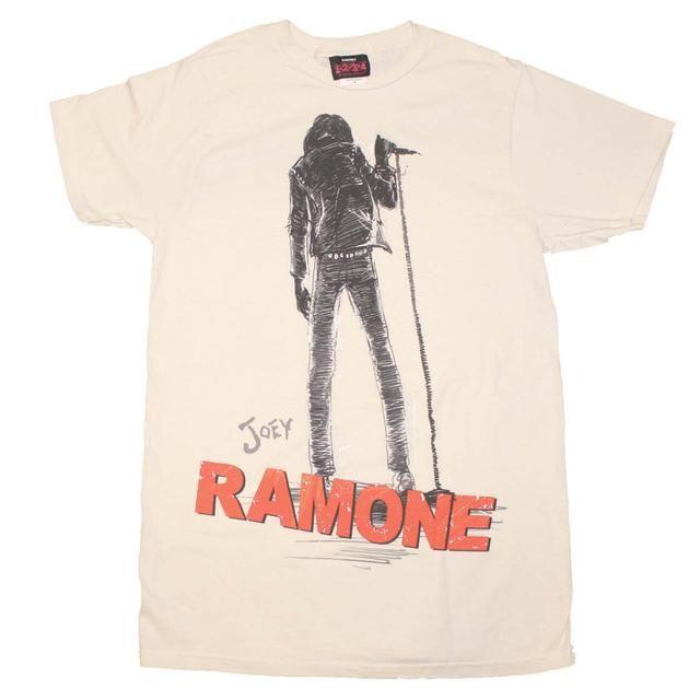 Ramones T Shirt   Joey Ramone Silhouette T-Shirt