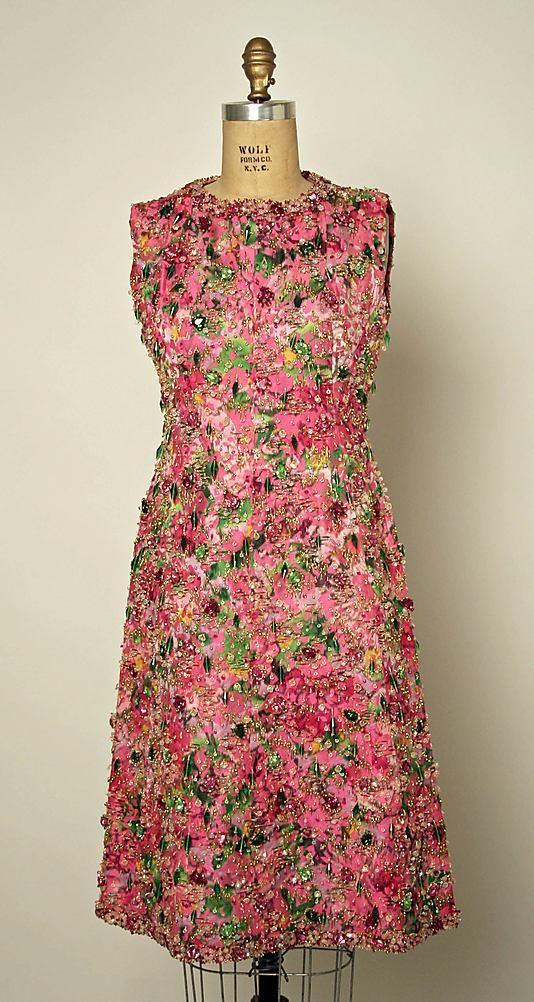 Платья 1960-х годов - Ярмарка Мастеров - ручная работа, handmade1963 г. Франция. Cristobal Balenciaga