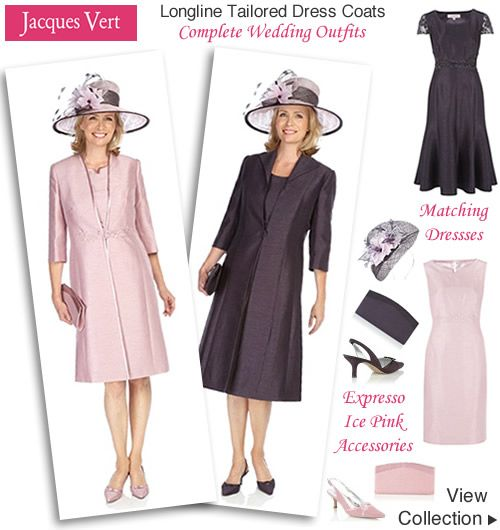 Las Wedding Coats Brown Pink Occasion Dress Longline Jacket Mother Of The Bride Outfits Pinterest Dresses And Coat