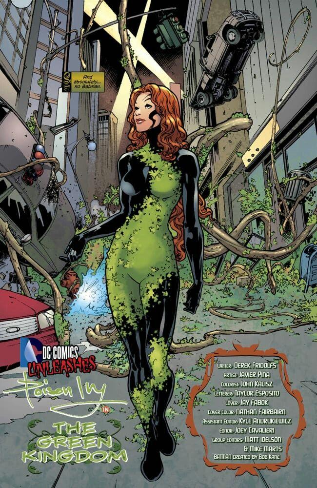 Pin De Gino Lurita Em Dc Comics Batman Villains Hera Venenosa