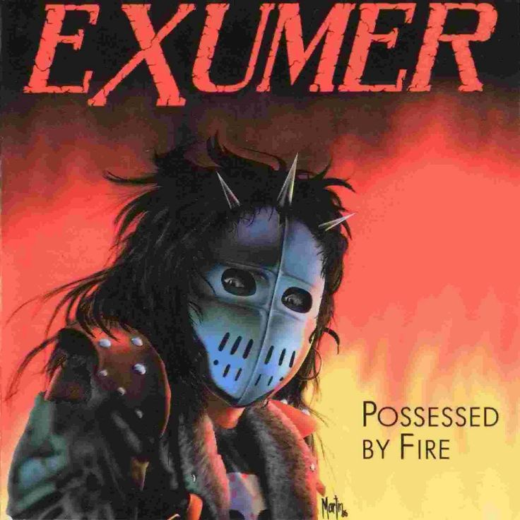thrash metal | EXUMER - POSSESSED BY FIRE (1986) - THRASH METAL