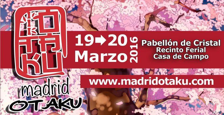 Madrid Otaku 2016 - Madrid, España, 19 y 20 de Marzo 2016 ~ Kagi Nippon He ~ Anime Nippon-Jin