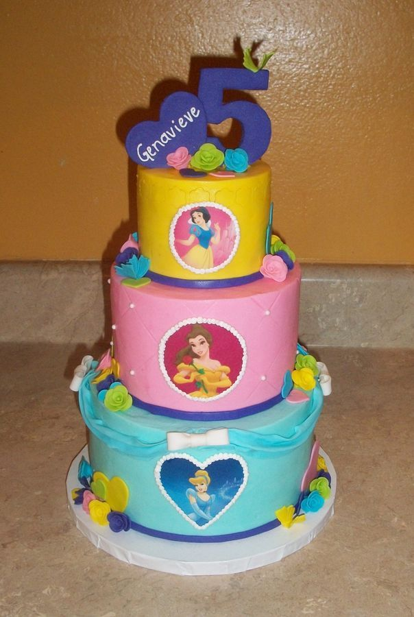 princess cake 103 best Girl Character Cakes