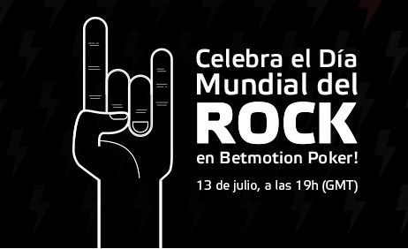 Freeroll especial para celebrar el Día Mundial del Rock hoy en Betmotion http://www.allinlatampoker.com/freeroll-especial-para-celebrar-el-dia-mundial-del-rock-hoy-en-betmotion/