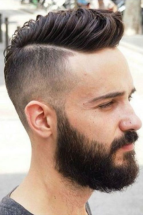 hair styles for long hair men 23 haircuts with beard 2018 2019 8006 | f1f41918f02f40ee88cd3d643a1d9947