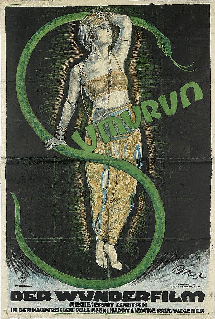 MIHALY BIRO (1886-1948).  SUMURUN. 1921.