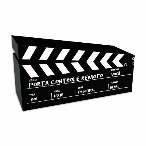 Porta Controle Remoto Cinema