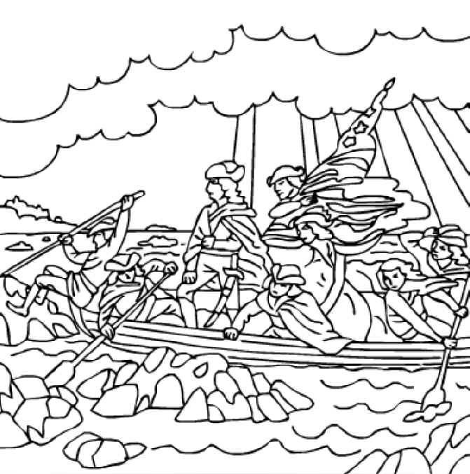 George Washington Crossing The Delaware River Free