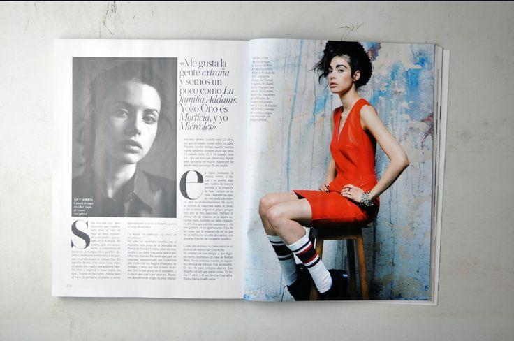 Nuestro modelo #Elliot en @Vogue Spain.