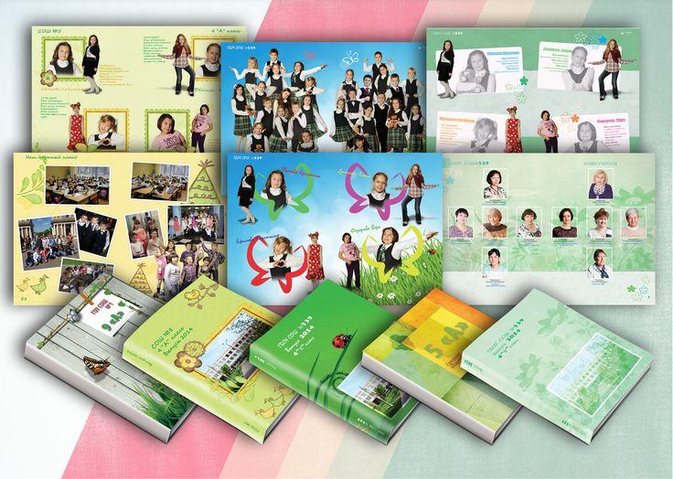 Примеры выпускных альбомов для детского сада и младших классов   #фотоальбом #выпускной #выпускной_альбом