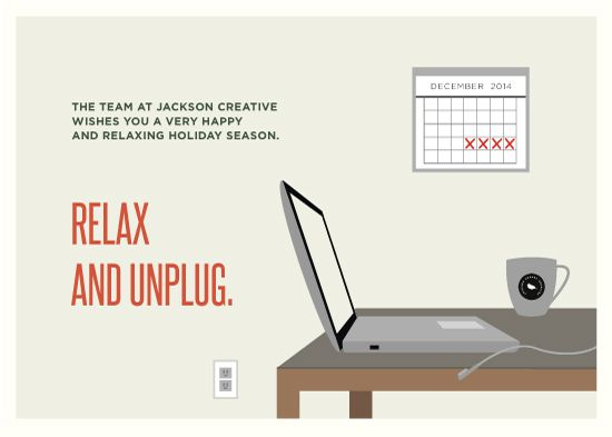 31 best holiday new year animation inspiration images on pinterest relax and unplug illustrated corporate holiday card by lauren hampton for minted colourmoves