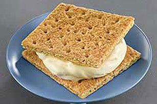 Puddingwiches. (Ice Cream Graham Sandwiches) If you use Fat Free Pudding, FF Cool Whip, 1% milk WWP+ = 1 point