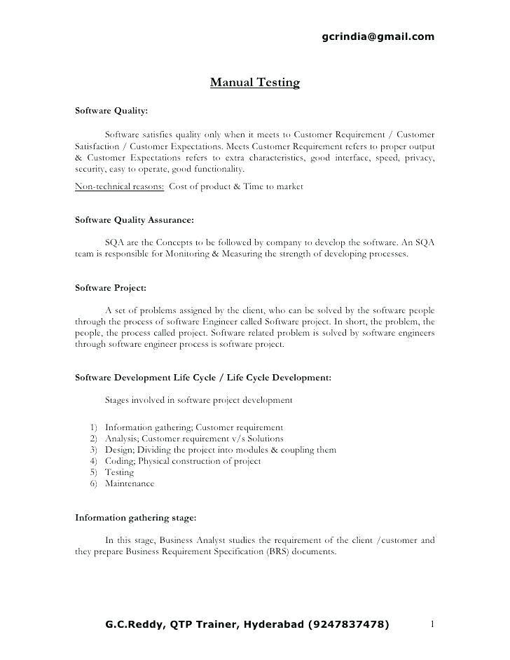 5 Years Testing Experience Resume Format Resume Templates Resume Format Resume Resume Software