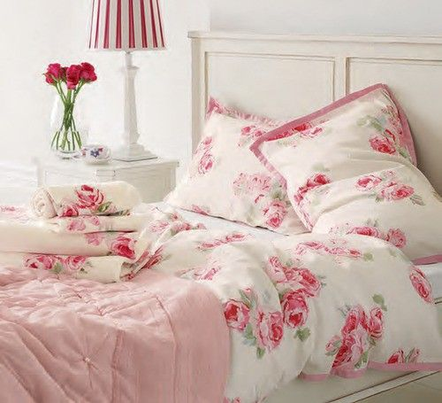 I love this bedding. It's so beautiful :) Laura Ashley heaven #TopshopPromQueen