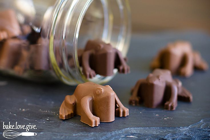 Harry Potter Chocolate Frogs + Peppermint Toads Recipe