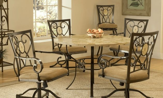 Kitchen chairs with casters no arms