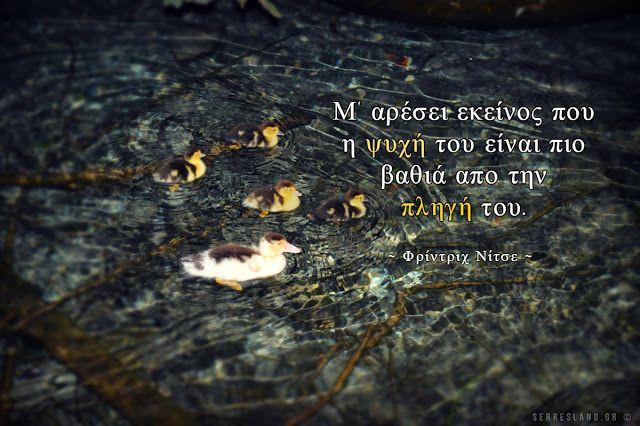 Σοφά Λόγια - Βαθιά ψυχή!