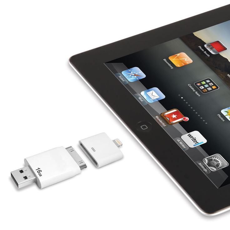 how to transfer photos from flash drive to ipad