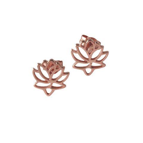 Mini Lotus Studs #shopapop