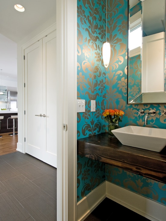 Modern Powder Room Design, Pictures, Remodel, Decor and Ideas