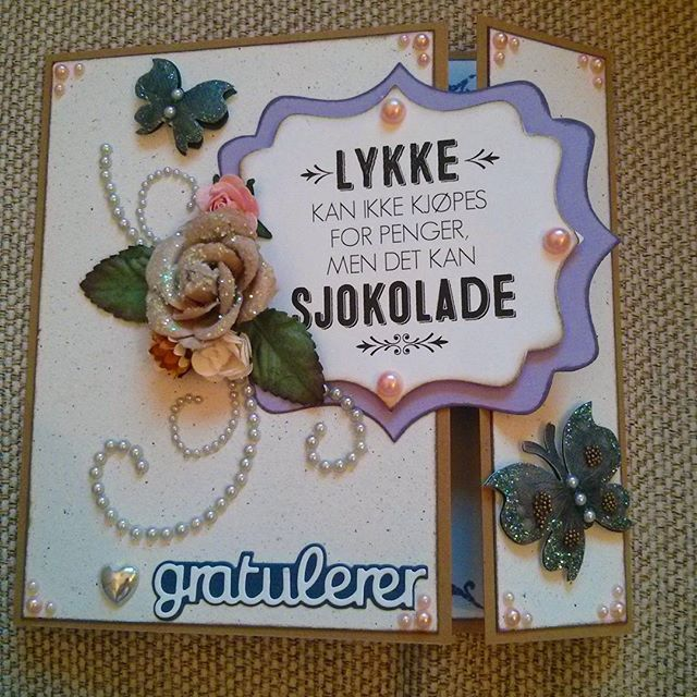 Costumer order. #scarpbooking #scrapagram #papercraft #card #birthday #birthdaycard #butterfly #purple #handmade