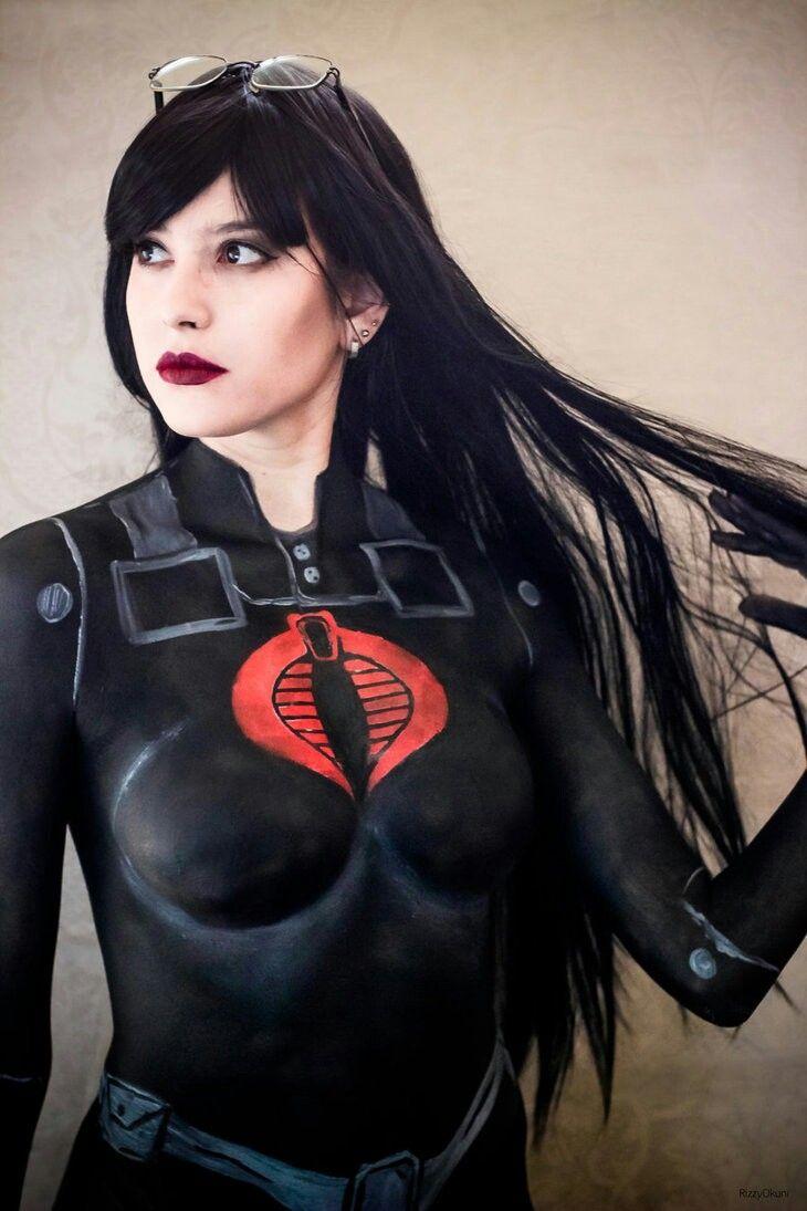 Baroness gi joe cosplay - Porn Clip